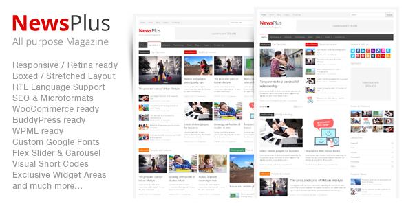 Best free and premium Wordpress magazine themes - Themes4WP