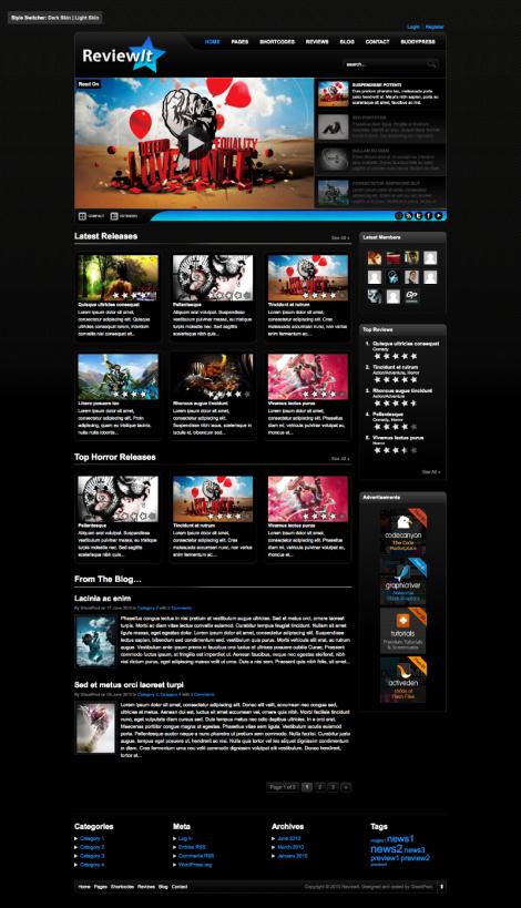 18 Best Gaming WordPress Themes - Themes4WP