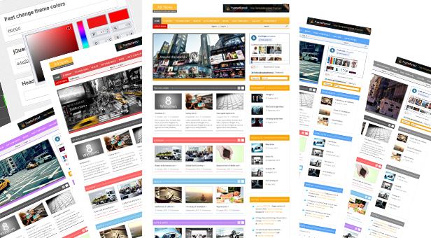 85+ free and premium WordPress Themes - Themes4WP