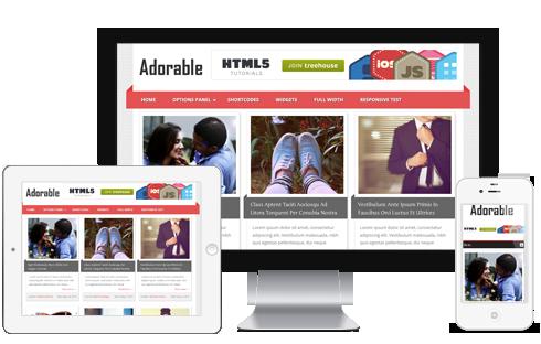 Adorable WordPress Theme