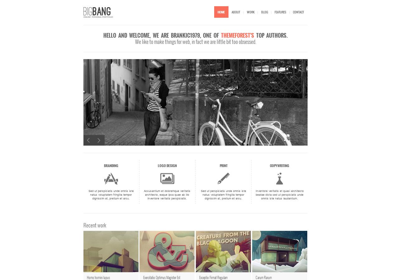 45+ best free and premium WordPress Themes - Themes4WP