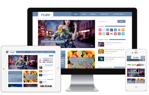 Flick WordPress Theme