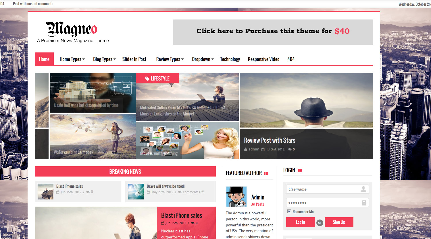 Some great Newest Wordpress themes - Themes4WP
