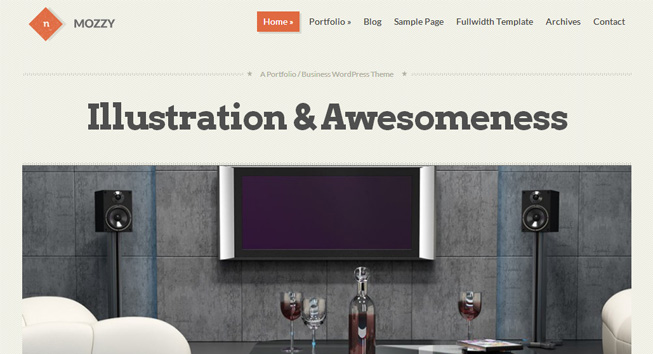 Mozzy WordPress Theme