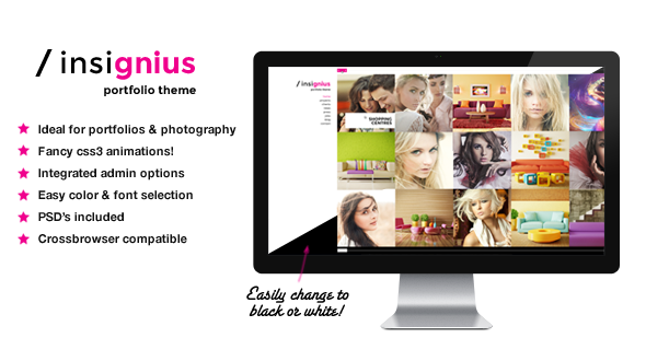 Insignius WordPress Gallery Theme