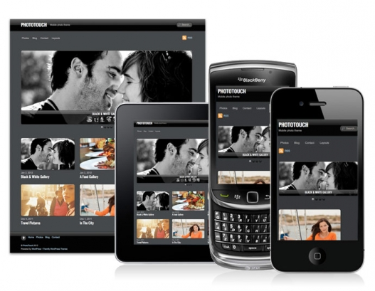 PhotoTouch Photography WP Theme