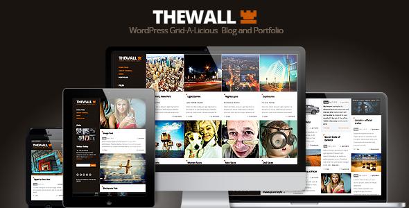 TheWall - Grid-A-Licious Blog and Portfolio theme