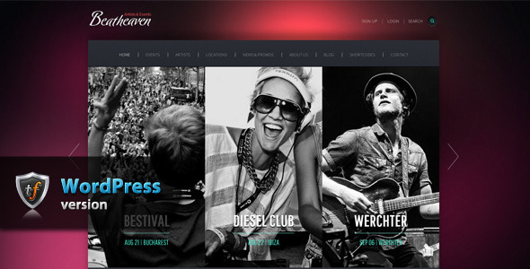 Beatheaven - Music WordPress Theme