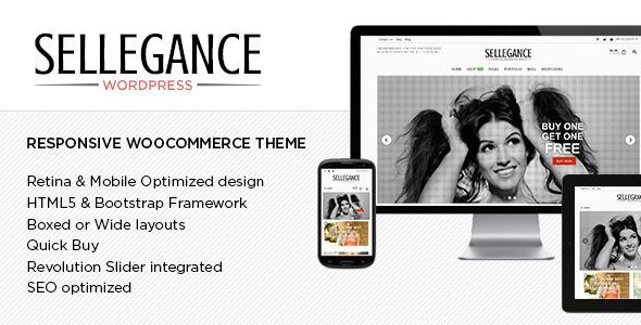Sellegance - WooCommerce WordPress Theme