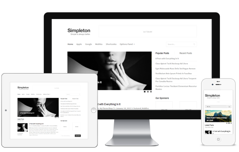 Simpleton-WordPress-Theme