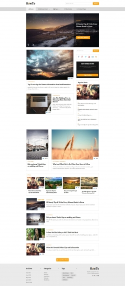 HowTo - WordPress Theme
