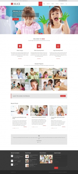I-max - multipurpose WordPress theme