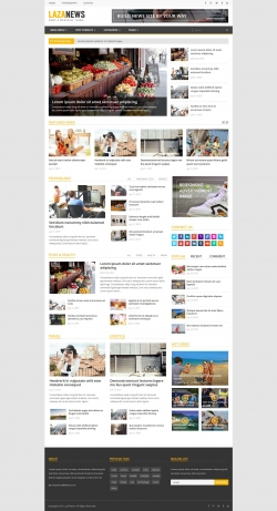 LazaNews - Responsive WordPress Magazine