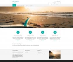 Oceanic WordPress Theme