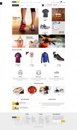 Mindig: a Flat & Multipurpose Ecommerce Theme