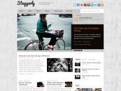 Staggerly - Responsive News