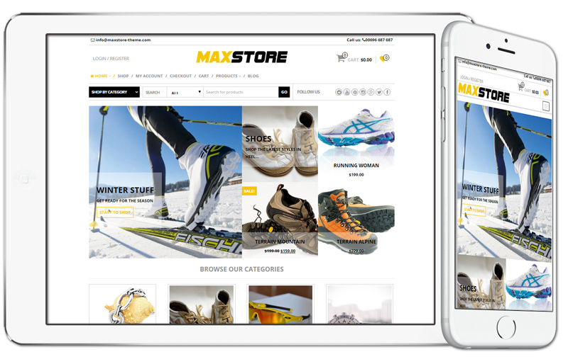 MaxStore WooCommerce WordPress Theme