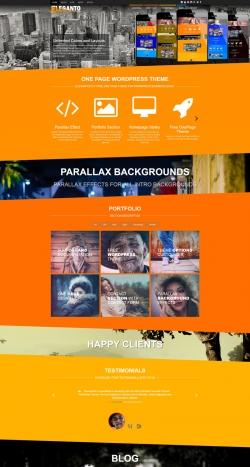 eleganto-free-one-page-wordpress-theme-preview