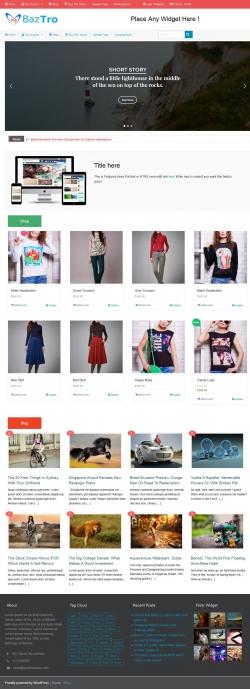 iShop free woocommerce wordpress theme