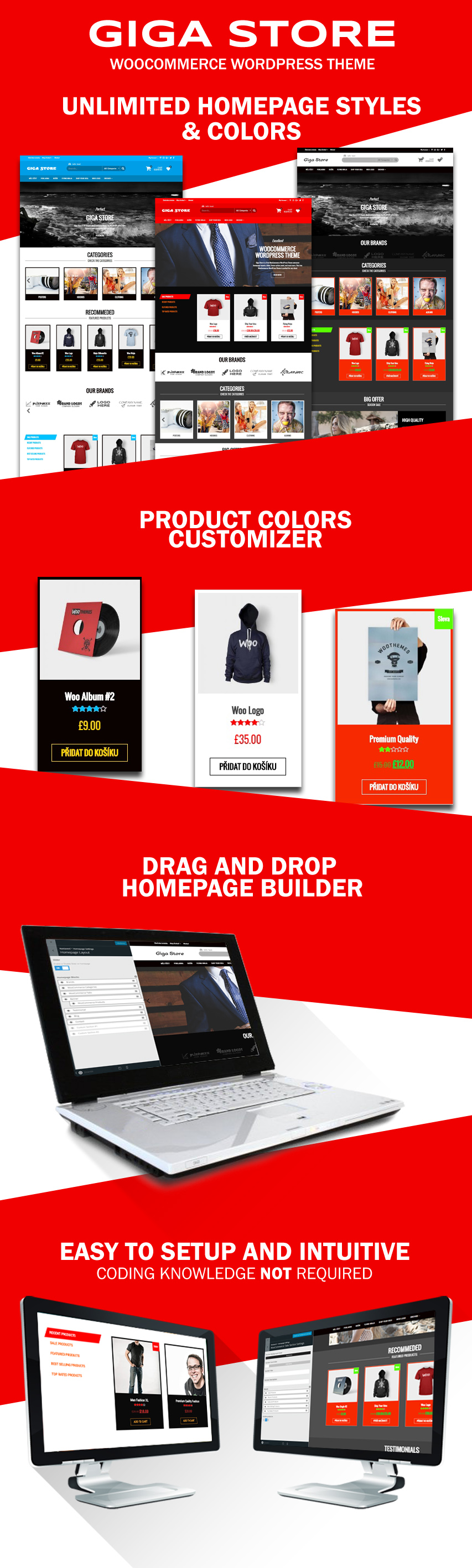 giga store - woocommerce WordPress Theme