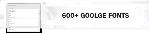 MaxStore PRO google fonts
