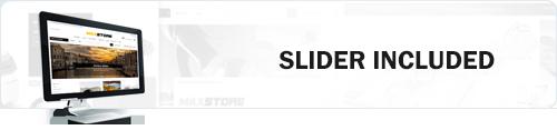 MaxStore PRO slider support
