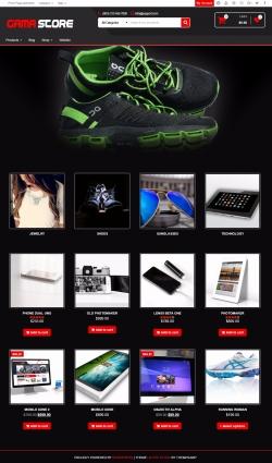 Gama Store – Free WooCommerce WordPress Theme for ecommerce sites