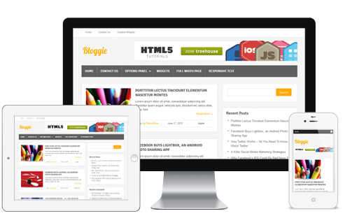 Bloggie - Free WordPress Theme from Mythemeshop - Themes4WP
