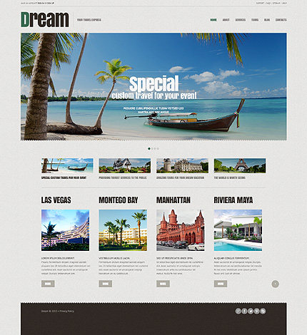 24 best travel wordpress themes 2014 themes4wp for Best travel booking sites