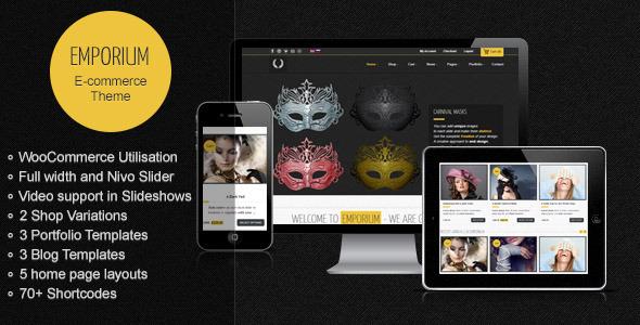 Emporium - Responsive WordPress WooCommerce Theme - Themes4WP