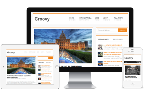 Groovy Free WordPress Theme - Themes4WP