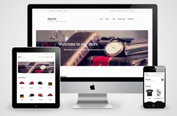 Mystile free eCommerce Wordpress Theme - Themes4WP