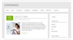Contango: Free WordPress Theme