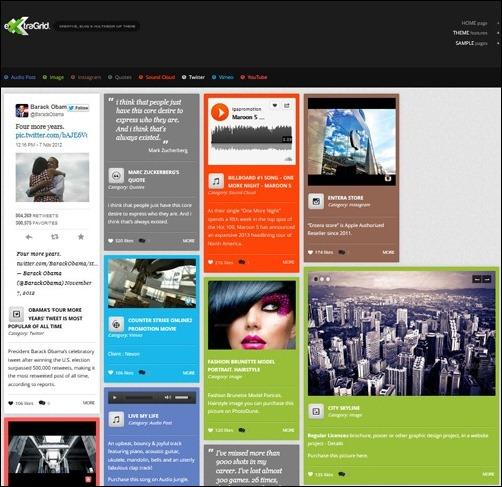 ExtraGrid - Creative, Blog & Multimedia theme - Themes4WP