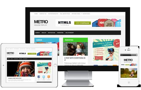 Metro WordPress Theme - Themes4WP