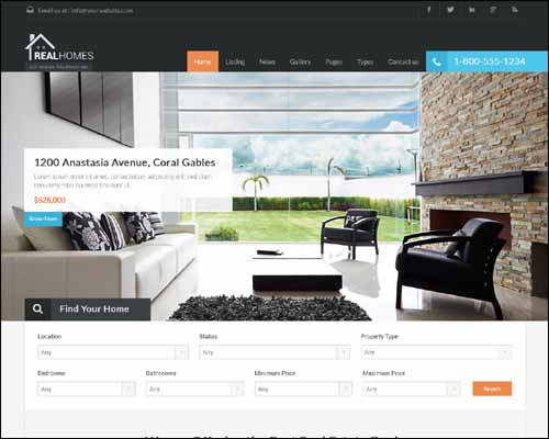 Best Real Estate WordPress Themes 2014 - Themes4WP