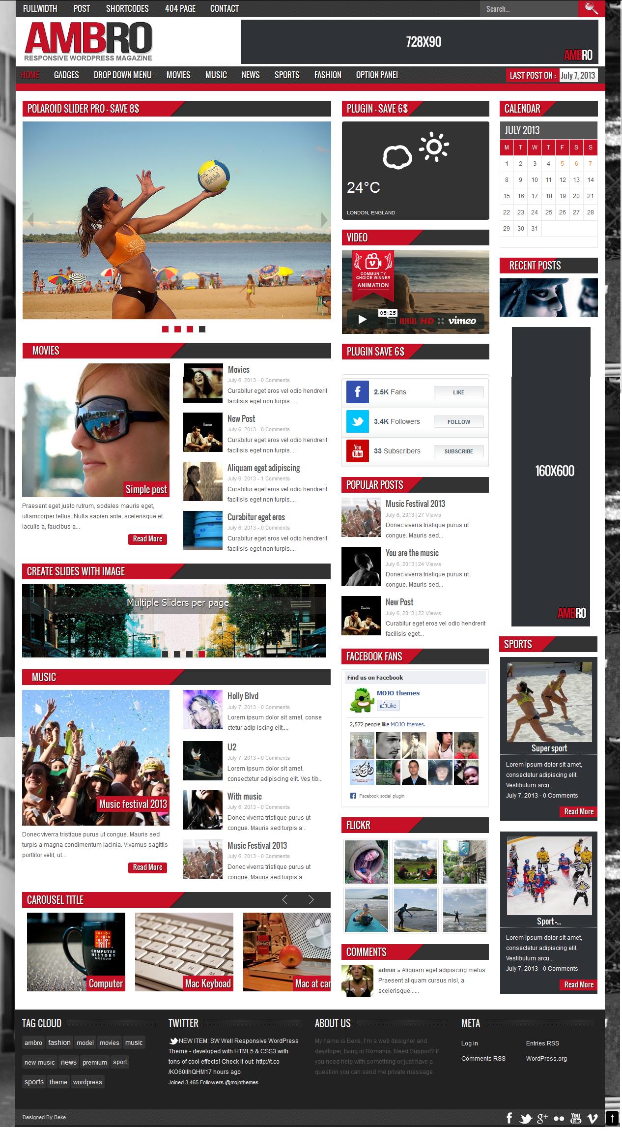 14 Best Magazine WordPress Themes with WooCommerce - Themes4WP