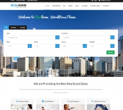 RealHome - Responsive Real Estate WordPress Theme
