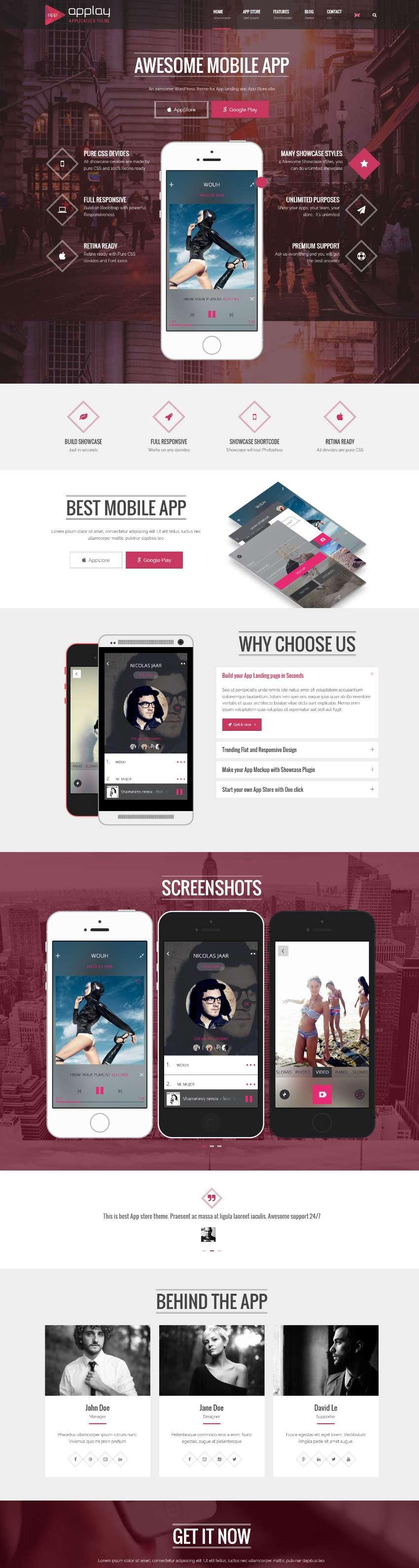 Applay - Wordpress App Showcase & App Store Theme
