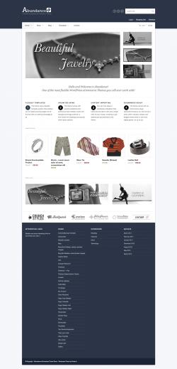 Abundance eCommerce Business Theme - Ecommerce>WooCommerce