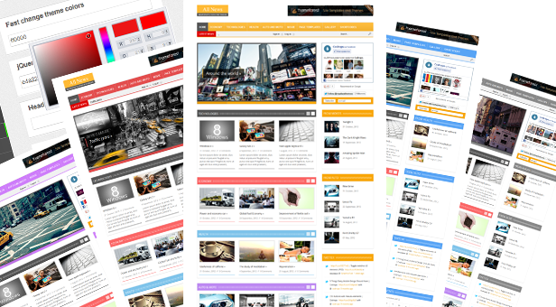 All News - Responsive WordPress News Theme - Magazine