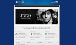 Alyeska Responsive WordPress Theme - Business