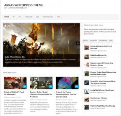 Arras 2.0 WordPress Theme - Blog|Free wordpress themes|Magazine