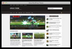 Arras free wordpress theme - Blog|Free wordpress themes|Magazine