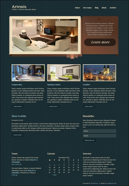 Artemis Business WordPress Theme - Business