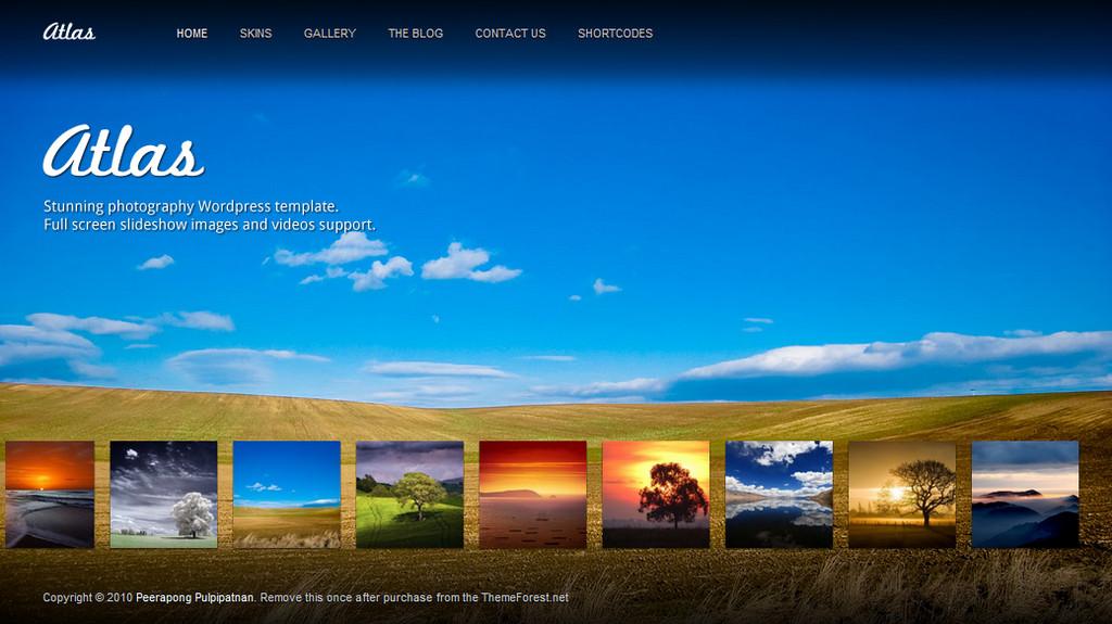 Atlas For Photography Creative Portfolio - Photography