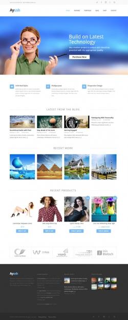 Ayush | Responsive Multipurpose Theme - Ecommerce>WooCommerce