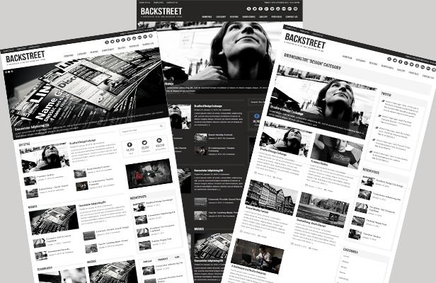 Backstreet - Blog & Magazine Theme - Magazine