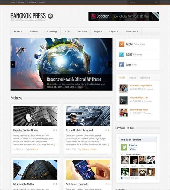 Bangkok Press - Responsive