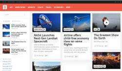 Bayside - Responsive WordPress Theme - Magazine|Pinterest